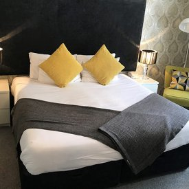 Boutique hotel rooms in Norfolk
